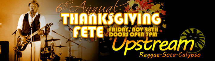 Thanksgiving party with Upstream at the Kobe Steakhouse in Seal Beach